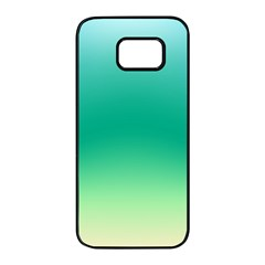 Sealife Green Gradient Samsung Galaxy S7 Edge Black Seamless Case