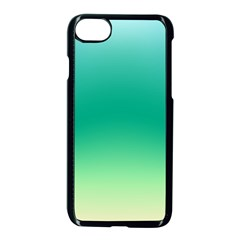 Sealife Green Gradient Apple Iphone 7 Seamless Case (black)