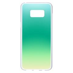 Sealife Green Gradient Samsung Galaxy S8 Plus White Seamless Case