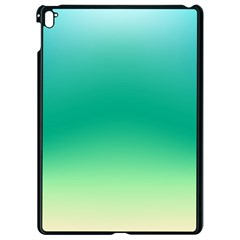 Sealife Green Gradient Apple Ipad Pro 9 7   Black Seamless Case