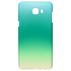 Sealife Green Gradient Samsung C9 Pro Hardshell Case