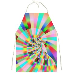 Irritation Funny Crazy Stripes Spiral Full Print Aprons