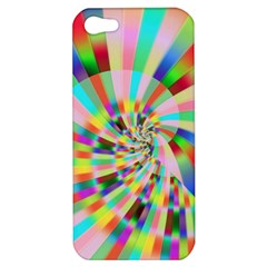 Irritation Funny Crazy Stripes Spiral Apple Iphone 5 Hardshell Case