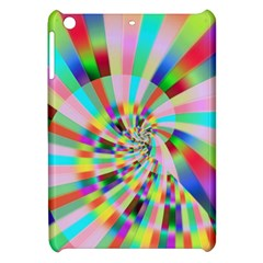 Irritation Funny Crazy Stripes Spiral Apple Ipad Mini Hardshell Case