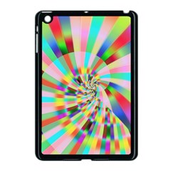 Irritation Funny Crazy Stripes Spiral Apple Ipad Mini Case (black)