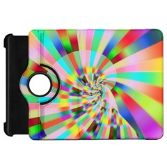 Irritation Funny Crazy Stripes Spiral Kindle Fire Hd 7  by designworld65