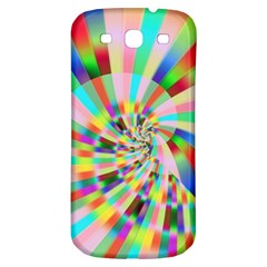 Irritation Funny Crazy Stripes Spiral Samsung Galaxy S3 S Iii Classic Hardshell Back Case