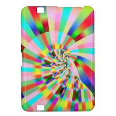 Irritation Funny Crazy Stripes Spiral Kindle Fire Hd 8 9  by designworld65