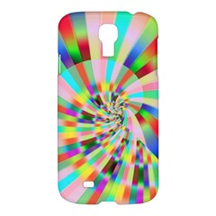 Irritation Funny Crazy Stripes Spiral Samsung Galaxy S4 I9500/i9505 Hardshell Case