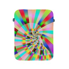 Irritation Funny Crazy Stripes Spiral Apple Ipad 2/3/4 Protective Soft Cases