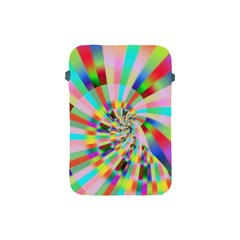 Irritation Funny Crazy Stripes Spiral Apple Ipad Mini Protective Soft Cases by designworld65