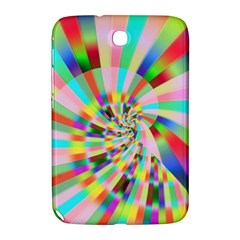 Irritation Funny Crazy Stripes Spiral Samsung Galaxy Note 8 0 N5100 Hardshell Case