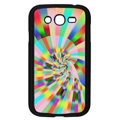 Irritation Funny Crazy Stripes Spiral Samsung Galaxy Grand Duos I9082 Case (black) by designworld65