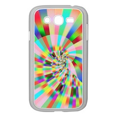Irritation Funny Crazy Stripes Spiral Samsung Galaxy Grand Duos I9082 Case (white)