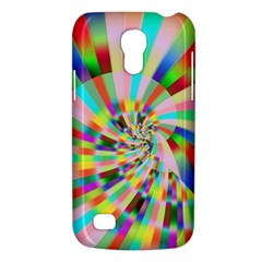 Irritation Funny Crazy Stripes Spiral Galaxy S4 Mini
