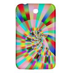 Irritation Funny Crazy Stripes Spiral Samsung Galaxy Tab 3 (7 ) P3200 Hardshell Case
