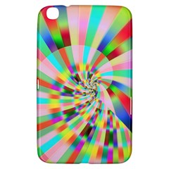 Irritation Funny Crazy Stripes Spiral Samsung Galaxy Tab 3 (8 ) T3100 Hardshell Case