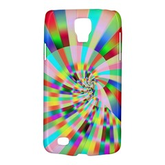 Irritation Funny Crazy Stripes Spiral Galaxy S4 Active