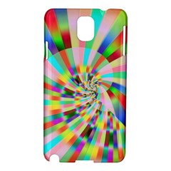 Irritation Funny Crazy Stripes Spiral Samsung Galaxy Note 3 N9005 Hardshell Case