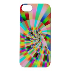 Irritation Funny Crazy Stripes Spiral Apple Iphone 5s/ Se Hardshell Case