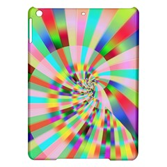 Irritation Funny Crazy Stripes Spiral Ipad Air Hardshell Cases