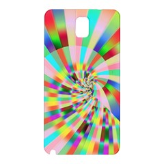 Irritation Funny Crazy Stripes Spiral Samsung Galaxy Note 3 N9005 Hardshell Back Case