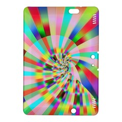 Irritation Funny Crazy Stripes Spiral Kindle Fire Hdx 8 9  Hardshell Case by designworld65