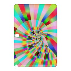 Irritation Funny Crazy Stripes Spiral Samsung Galaxy Tab Pro 10 1 Hardshell Case