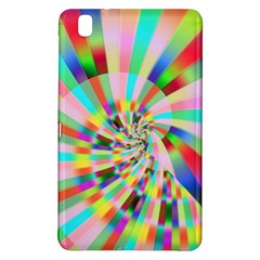Irritation Funny Crazy Stripes Spiral Samsung Galaxy Tab Pro 8 4 Hardshell Case