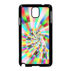 Irritation Funny Crazy Stripes Spiral Samsung Galaxy Note 3 Neo Hardshell Case (black)