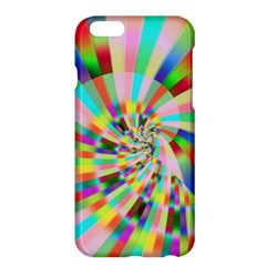 Irritation Funny Crazy Stripes Spiral Apple Iphone 6 Plus/6s Plus Hardshell Case by designworld65