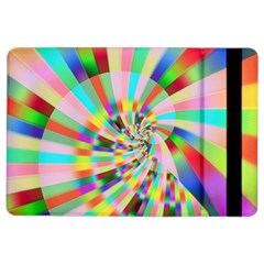 Irritation Funny Crazy Stripes Spiral Ipad Air 2 Flip