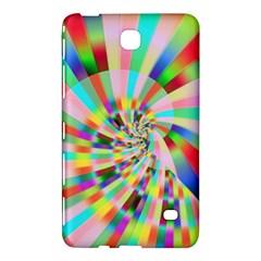 Irritation Funny Crazy Stripes Spiral Samsung Galaxy Tab 4 (7 ) Hardshell Case  by designworld65
