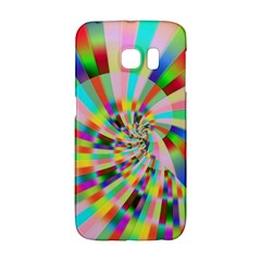 Irritation Funny Crazy Stripes Spiral Galaxy S6 Edge