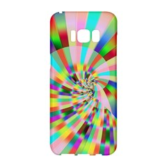 Irritation Funny Crazy Stripes Spiral Samsung Galaxy S8 Hardshell Case