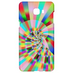 Irritation Funny Crazy Stripes Spiral Samsung C9 Pro Hardshell Case