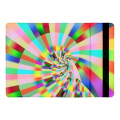 Irritation Funny Crazy Stripes Spiral Apple Ipad Pro 10 5   Flip Case