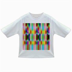 Multicolored Irritation Stripes Infant/toddler T Shirts