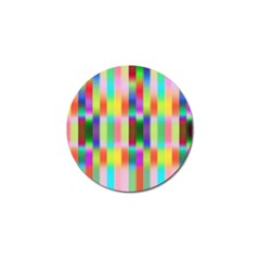 Multicolored Irritation Stripes Golf Ball Marker (4 Pack)
