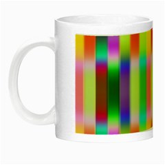 Multicolored Irritation Stripes Night Luminous Mugs