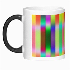 Multicolored Irritation Stripes Morph Mugs
