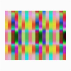 Multicolored Irritation Stripes Small Glasses Cloth