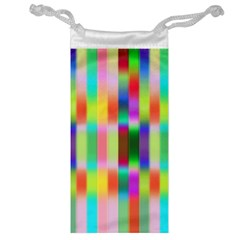 Multicolored Irritation Stripes Jewelry Bag