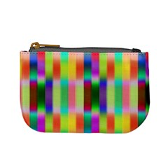 Multicolored Irritation Stripes Mini Coin Purses