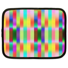 Multicolored Irritation Stripes Netbook Case (xl)
