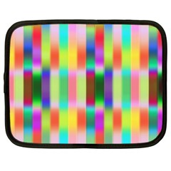 Multicolored Irritation Stripes Netbook Case (xxl)