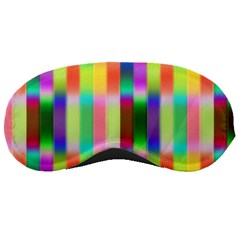 Multicolored Irritation Stripes Sleeping Masks