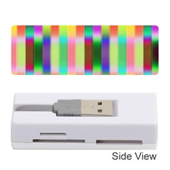 Multicolored Irritation Stripes Memory Card Reader (stick)