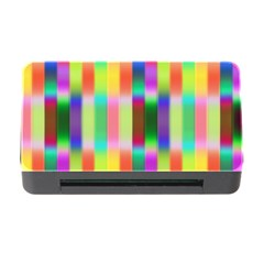 Multicolored Irritation Stripes Memory Card Reader With Cf