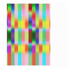 Multicolored Irritation Stripes Large Garden Flag (two Sides)
